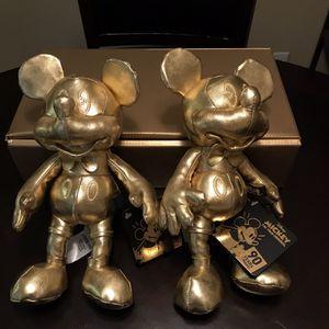 Golden Mickey Plush for Sale in Riverside, CA