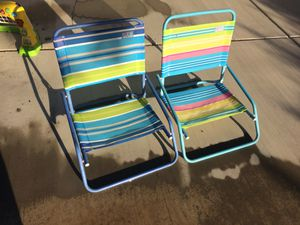 Kids beach chairs for Sale in Hemet, CA