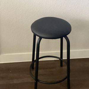 Small Black Stool for Sale in Cedar Park, TX