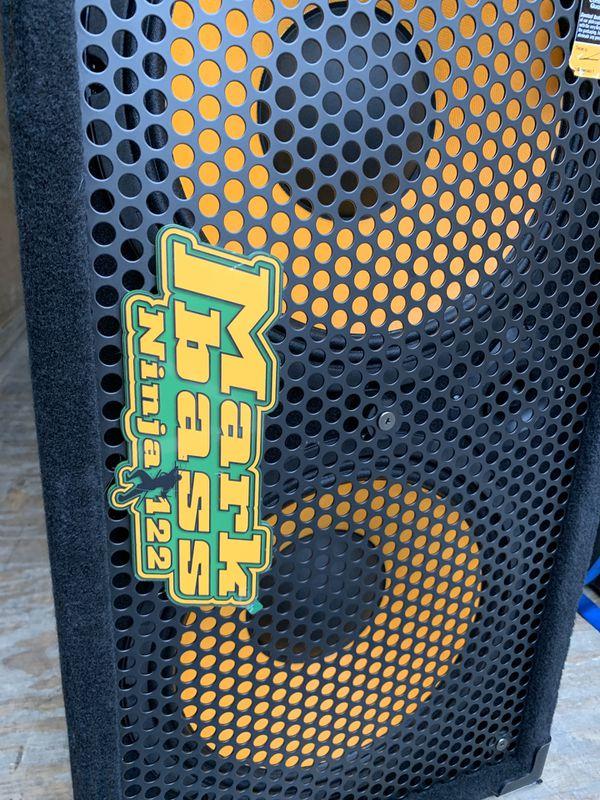 Markbass New York 122 Ninja 2x12 Richard Bona Bass Cab