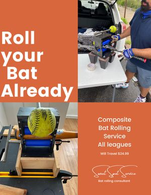 Softball/Baseball Composite Bat Rolling Service for Sale in Queens, NY