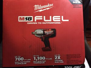 """1/2"""" High Torque Impact Wrench 18V for Sale in Camden, NJ"""