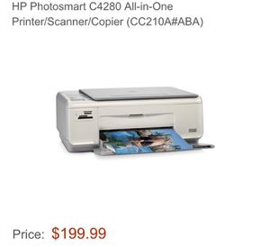 Hp c4280 used all in one printer for Sale in Scottsdale, AZ