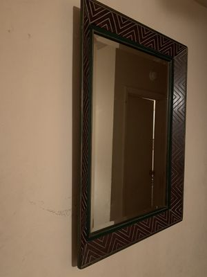 Very large decor mirror for Sale in Hollywood, FL