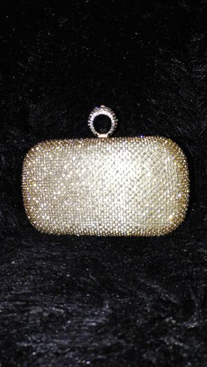 Gold Ring Clutch for Sale in Riverdale, GA