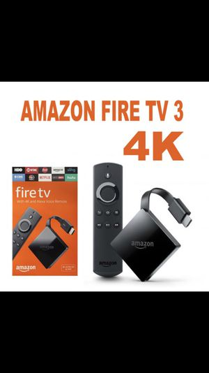 Brand New!!! 3rd Generation Fire TV for Sale in Trenton, NJ
