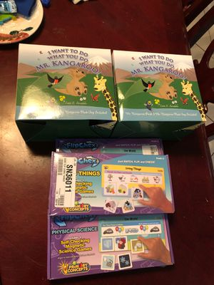 Random teaching tools games for kids for Sale in Coconut Creek, FL
