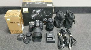 Nikon D7000 W/Battery,Charger, 18-105mm , 55-200mm Lenses for Sale in Lake Angelus, MI
