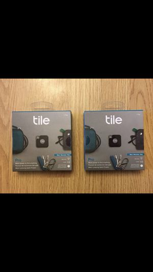 Tile PRO Bluetooth tracker for Sale in Bothell, WA