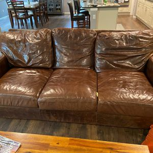 Quality Leather Couch for Sale in Gig Harbor, WA