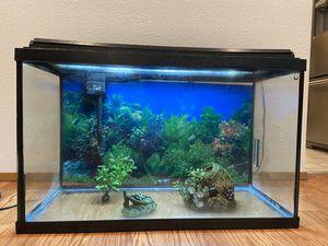 Fish tank arquarium 30gallon for Sale in Everett, WA