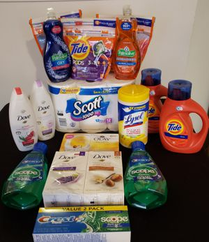 Tide Laundry Detergent Personal Care Bundle for Sale in Capitol Heights, MD