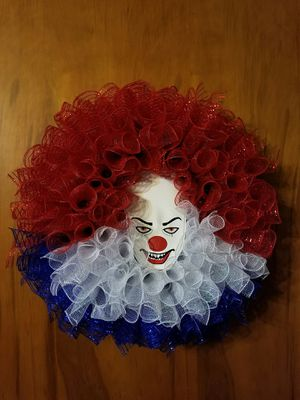 Clown Wreath for Sale in Fresno, CA
