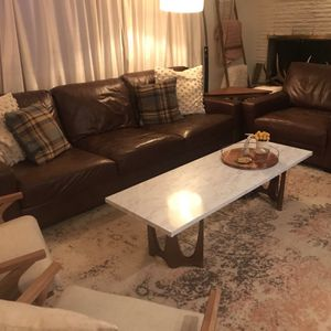 Potterbarn Sofa and Oversized Chair for Sale in Bellevue, WA