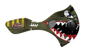 NIB RZ Mask XL Special Art Spitfire Edition - 2 Filters & Bag Included - Model 82675 for Sale in Saint Charles, MD