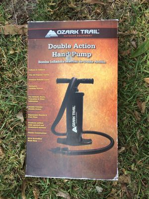 Double action hand air pump for Sale in Austin, TX