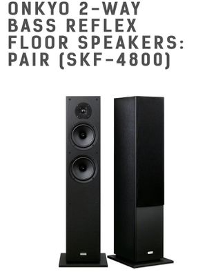 Onkyo Pair of Floor Speakers for Sale in Smyrna, GA