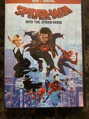 Spider-Man Into The Spider-Verse DVD for Sale in Fremont, CA
