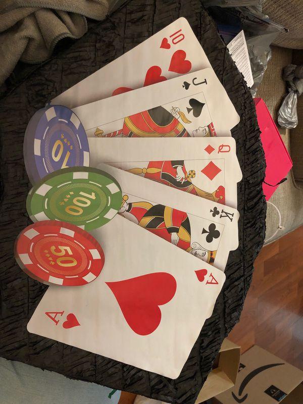 Casino theme piñata new