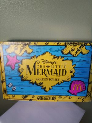 1997 Limited Edition Disney's Little Mermaid McDonalds Happy Meal Set for Sale in Tacoma, WA
