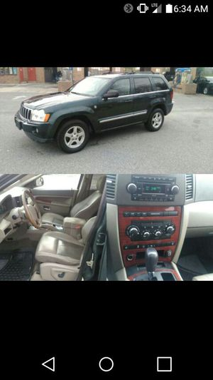 2005 Jeep Grand Cherokee Limited w/Dvd & Navigation for Sale in Silver Spring, MD