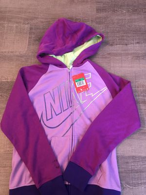 NWT girls Nike zip up for Sale in Mattawan, MI
