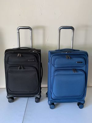 Set of two SAMSONITE 20' Softside Spinner Carry-on for Sale in Flower Mound, TX