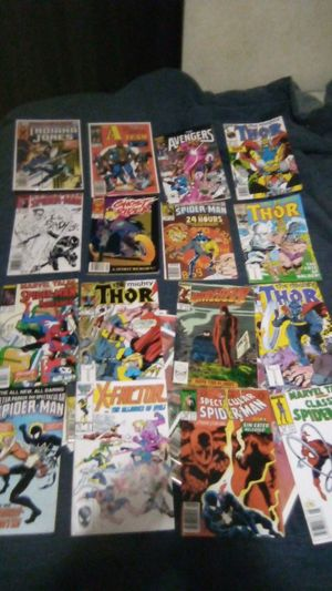 Comics Spider-Man Thor and wolf sman! Also x factor! tand collection for Sale in Northfield, OH