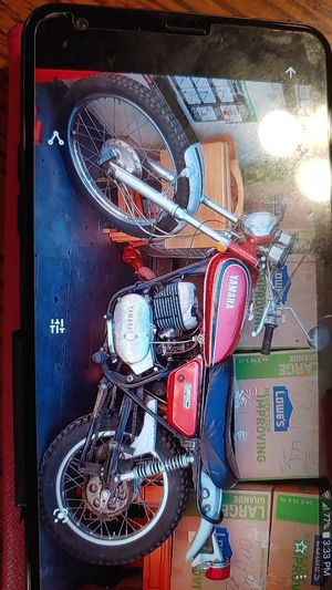 1972 Yamaha motorcycle for Sale in Montclair, CA