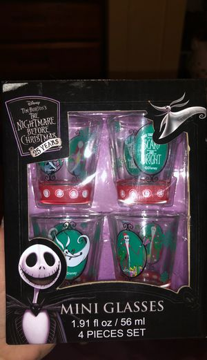 The Nightmare Before Christmas Shot Glasses for Sale in Winter Haven, FL