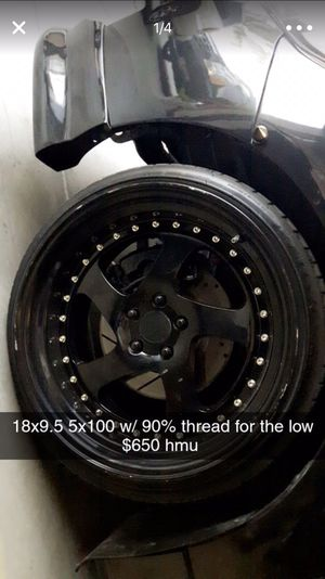 18 inch JNC wheels for Sale in Carson, CA