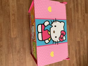 Hello Kitty toy chest for Sale in Las Vegas, NV