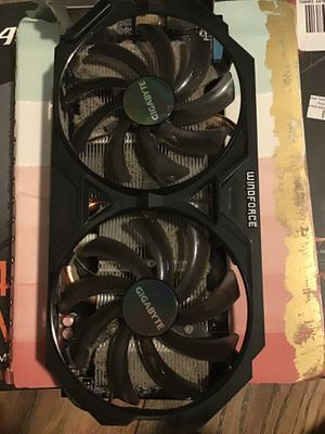 Gigabyte windforce video card R9270~used for Sale in Baltimore, MD