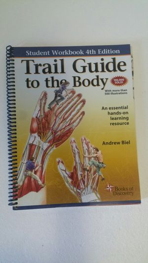 Trail Guide To The Body student workbook for Sale in Oakland, CA