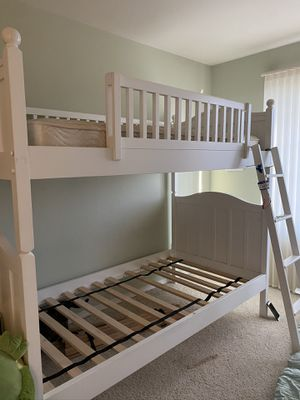 Bunk Beds including mattresses good condition for Sale in Mill Creek, WA