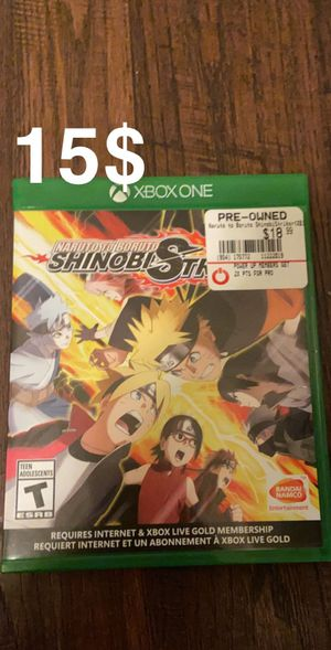 2 Naruto Xbox games, 1 ps4 game for Sale in Fontana, CA