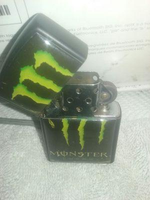 Monster energy zippo lighter for Sale in Fresno, CA