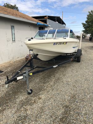 1984 sea swirl boat and trailer for Sale in North Highlands, CA