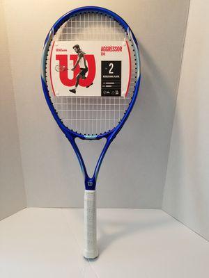 Brand New Wilson Aggressor 100 tennis racket for Sale in Venus, TX