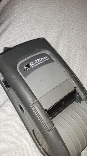 Zebra ql220 plus wireless printer for Sale in Beaumont, TX