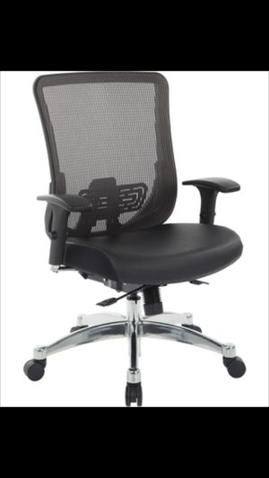 OFFICE CHAIR WITH BACK SUPPORT (PROTECTION COVER INCLUDED) for Sale in Norco, CA