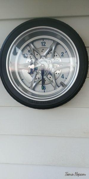Mechanical rubber tire clock for Sale in Bristol, VA