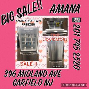 Amana bottom Freezer SALE!! for Sale in Garfield, NJ