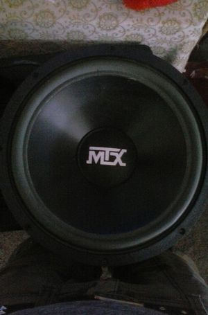 12in mtx sub for Sale in Tacoma, WA