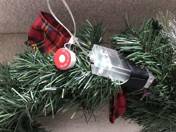 Christmas Wreath w/ lights