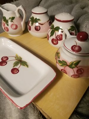 Vintage Cherry China by Sadek (Thailand) for Sale in Fairfax, VA