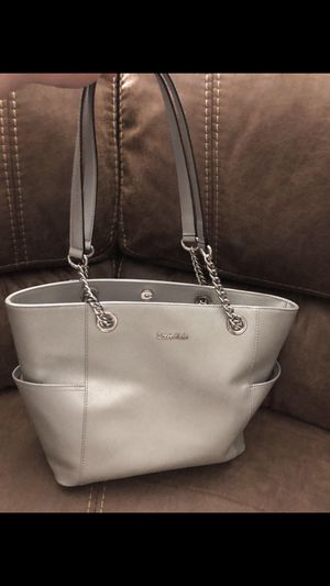 Silver Calvin Klein Purse for Sale in Smyrna, TN