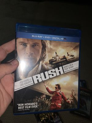 Rush blu ray for Sale in Baldwin Park, CA