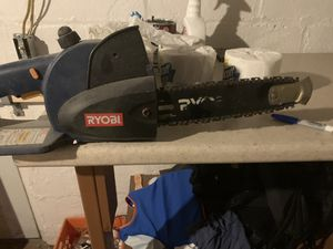 Ryobi chain saw for Sale in Millvale, PA