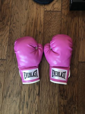 everlast boxing gloves for Sale in Amarillo, TX